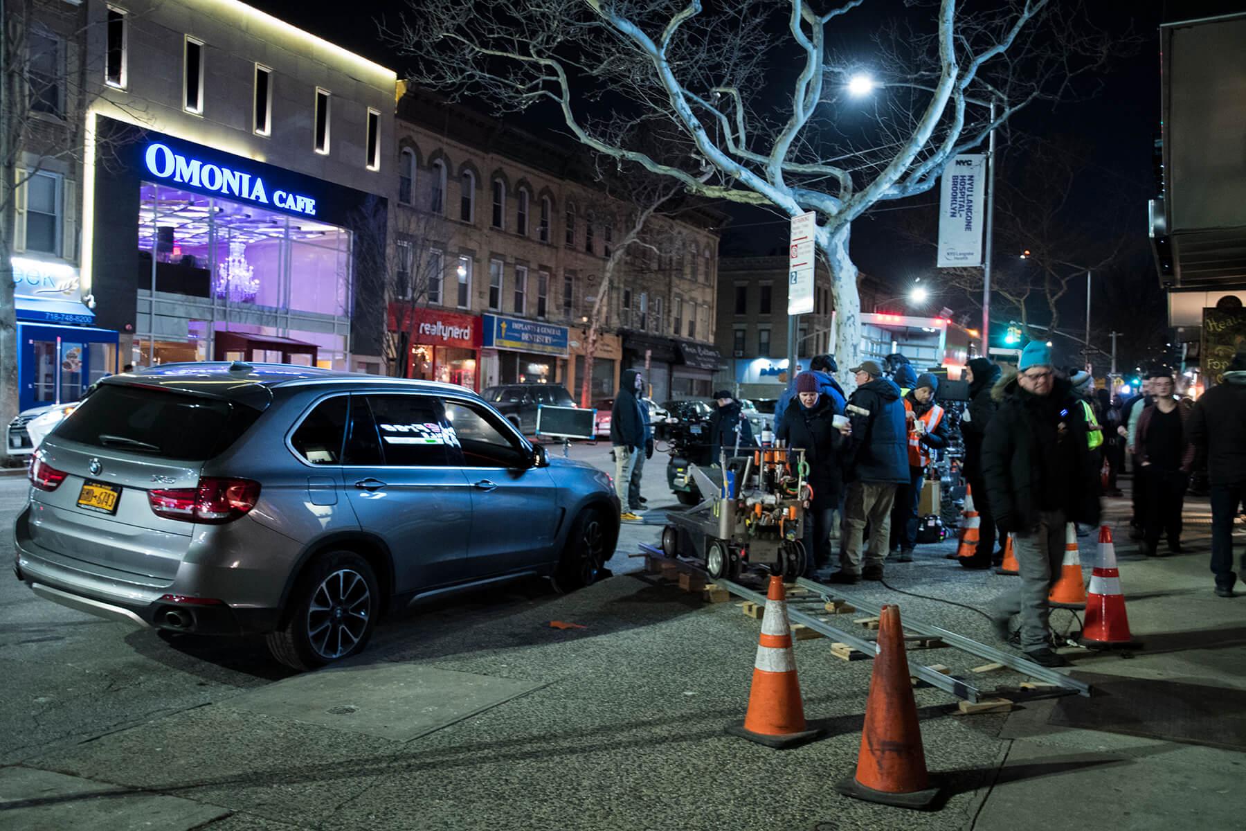 The Good Cop Filming