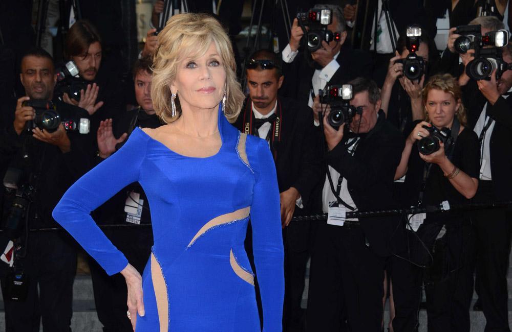 Director Jane Fonda