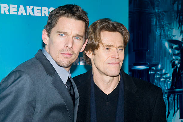 Ethan Hawk and Williem Dafoe